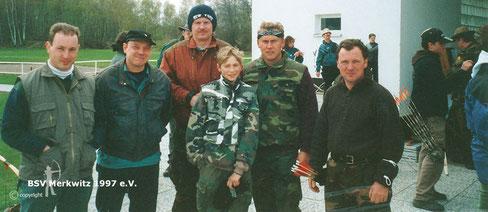 LM in Halle/ Brandberge 21./ 22.04.2001 - BSV Merkwitz 1997 e.V.