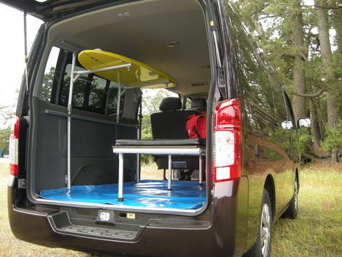 NV350 トランポ 日産 ベッドキット ハイエース トランポ