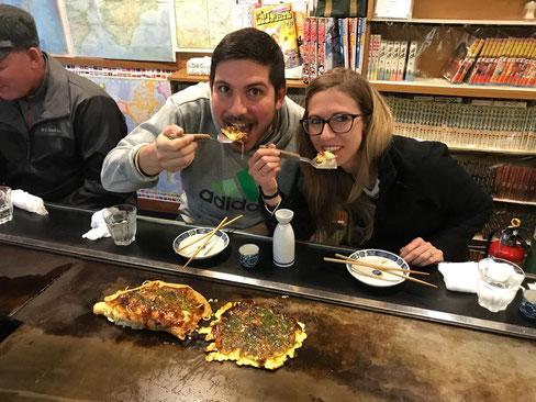 Okonomiyaki Katsu, che bontà!