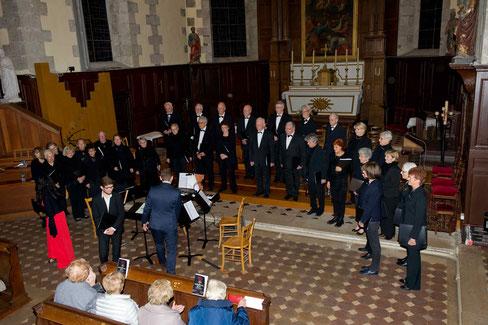 Concert du 17 novembre dans l'église Saint-Pierres de Maintenon