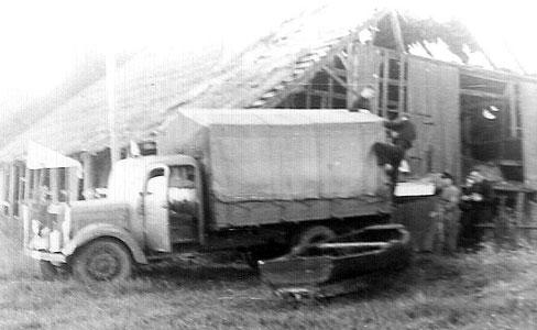 Fotos Bootschuppen 1949 / Maschinenhaus / Trockenschuppen 1950 M. Lange Kirchweyhe