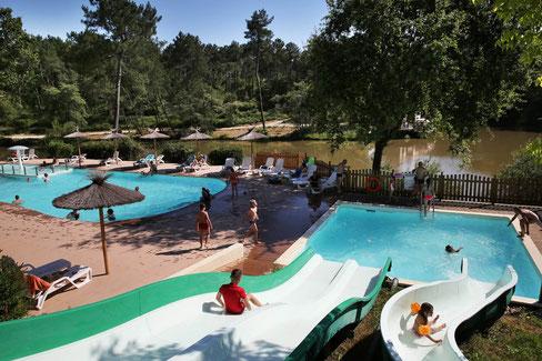 camping dordogne avec piscine chauffée