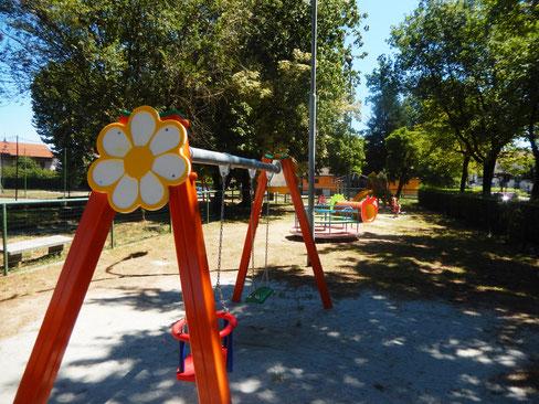 Comune di Pieve del Cairo (Pavia) giochi per parco Stileurbano attrezzature per parco giochi