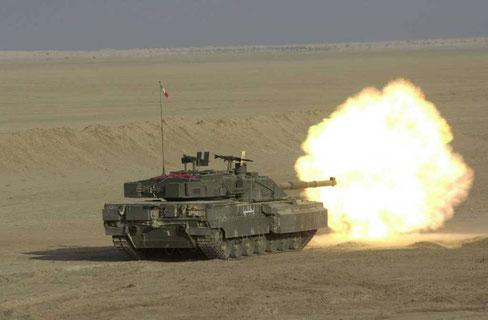 Le C1 Ariete possède un arsenal moderne et performant...