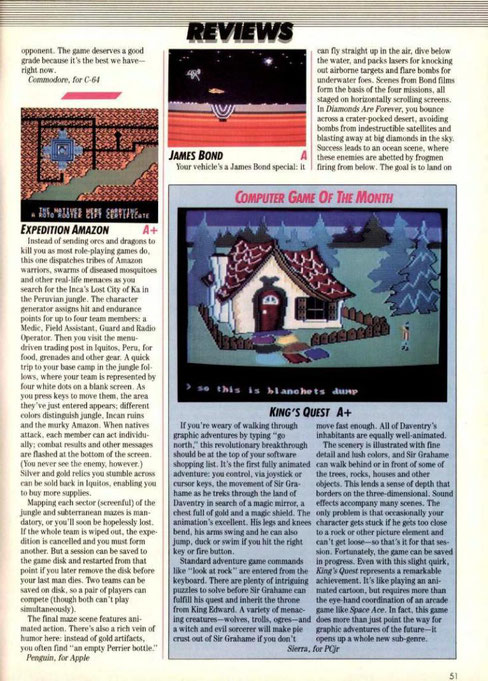 kings quest 1983 Computer Games