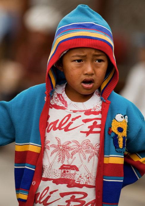 Portrait d'un petit Balinais