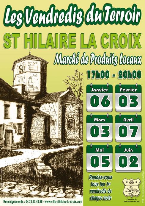 Les Vendredis du Terroir - Saint-Hilaire-la-Croix