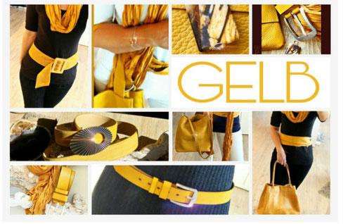 Accessoires in Gelb