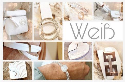 Accessoires in Weiß