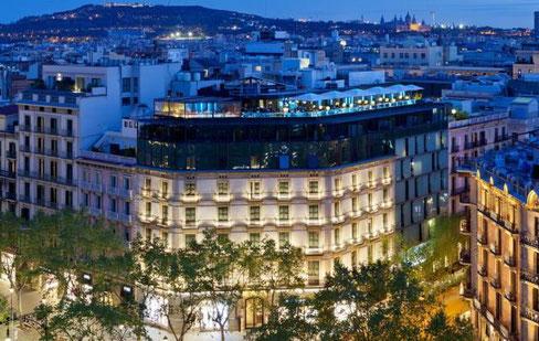 Condes de Barcelona отели в центре Барселоны 4 звезды