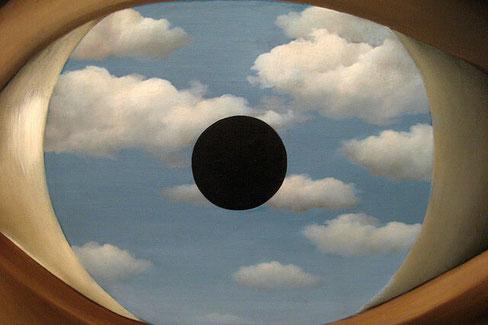 Самые известные работы Рене Магритта  Фальшивое зеркало