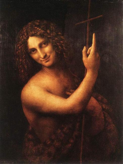 Шедевры Леонардо в Лувре - Иоанн Креститель