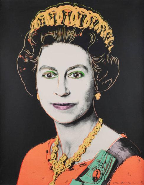 Королева Елизавета Вторая - Энди Уорхол