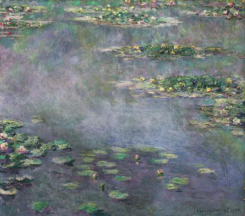 Самые дорогие картины Клода Моне. Кувшинки (Водяные лилии) - 1906