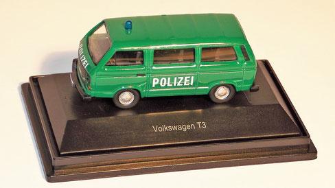 """VolkswagenT3 """"Polizei"""", Schuco"""