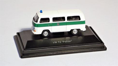 """Volkswagen, VW T2 """" Polizei """" Schuco"""