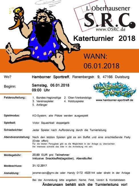 Katerturnier 2018 , 1.Oberhausener SRC
