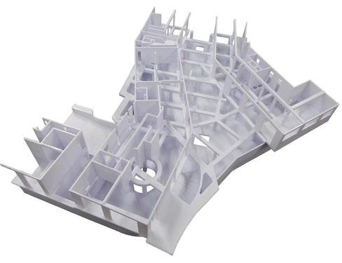 Architekturmodell 3D-Drucken lassen