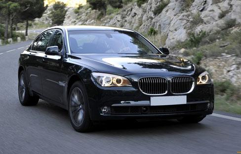 Аренда BMW 7 в Крыму