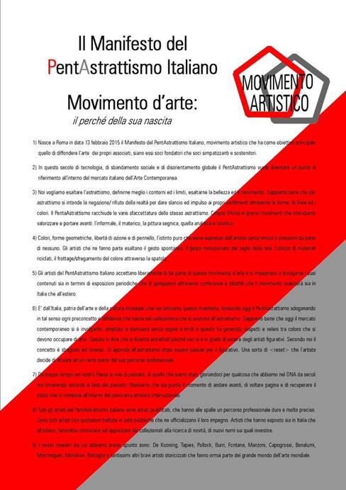 Il Manifesto del Movimento