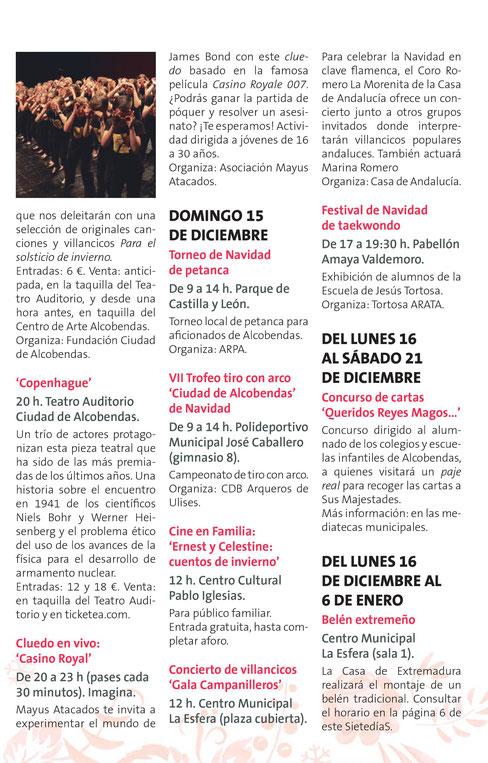 Navidad en Alcobendas Villancicos y cuentacuentos