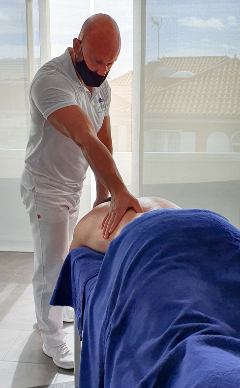 Massage Specialist in Sports & Anti Stress Massages Maspalomas Playa del Inglés San Agustín Gran Canaria