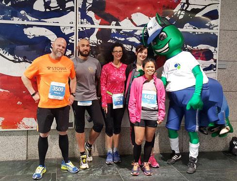 Unser Laufteam in Mannheim