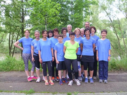 Ein Teil des LC 80 Goldstadtlaufteams