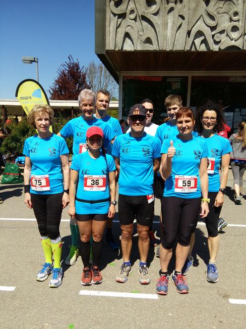 Unser erfolgreiches Team  in Illingen