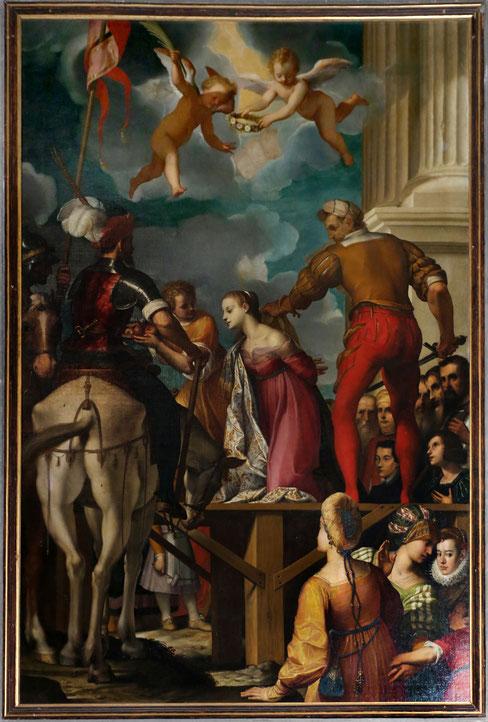 Il martirio di santa Dorotea di Jacopo Ligozzi, 1595