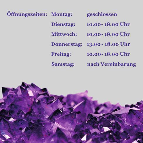 Stein-Insel, Berlin, Edelsteine, Mineralien, Stein-Insel Öffnungszeiten, Amethyst