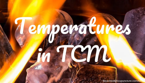 Inherent food temperatures in TCM