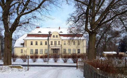 Das Herrenhaus in Rauschendorf