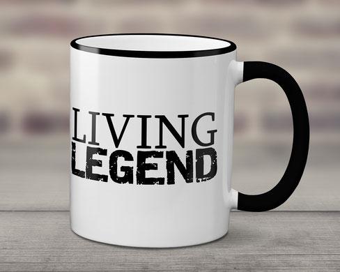 Becher Living Legend Geschenke für Männer