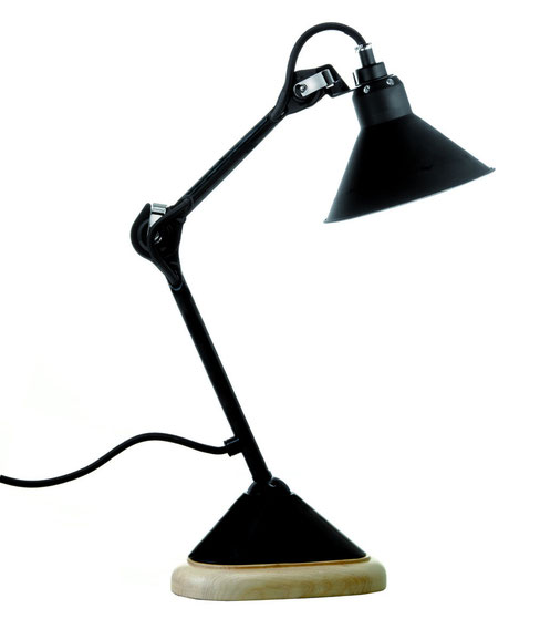 La Lampe Gras N°207 BL-SAT, Design table lamp