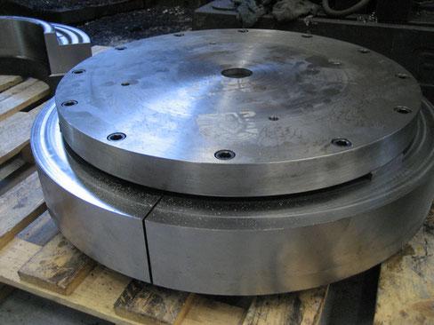 Fig.4: Configuración para las piezas del engranaje de anillo.