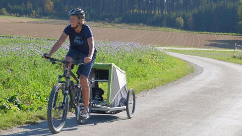 mein-wanderhund; Andrea Obele; Bike & Hike mit Hund; radlhund.de;