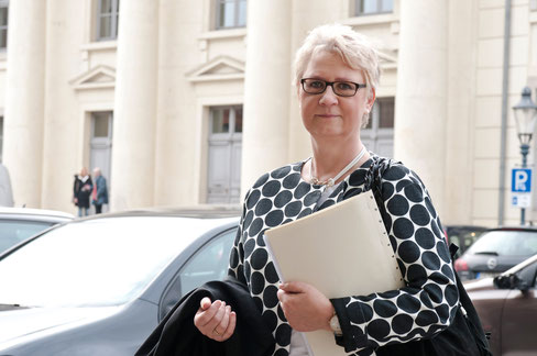 Verteidigerin Sabine Kleinke Braunschweig Landgericht Eiermarkt
