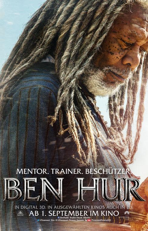 Morgan Freeman als Ilderim - Ben Hur - Paramount - kulturmaterial