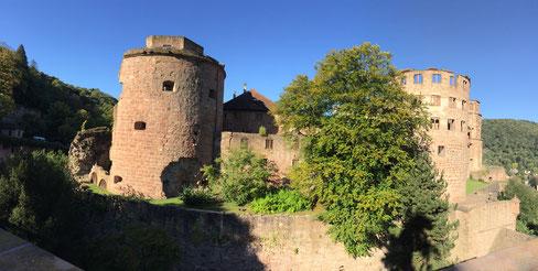 Heidelberger Schloss Ruine