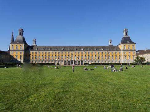 Gartenreise Deutschland:Kurfürstliche Residenz in Bonn