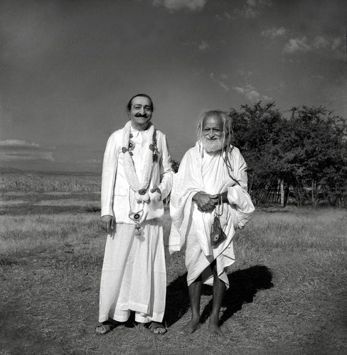 1st December 1955 - Meherabad, India. Photo taken by Panday