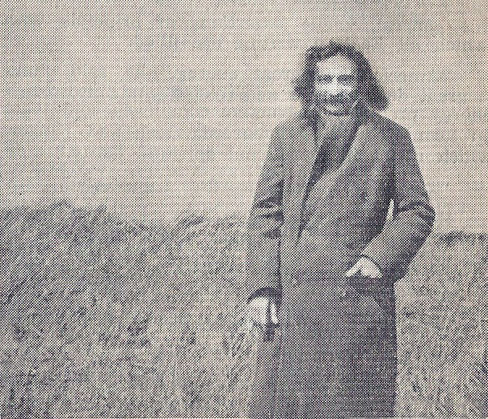 "1932 : Meher Baba at the ""Retreat"" at Combe Martin, Devon, England"