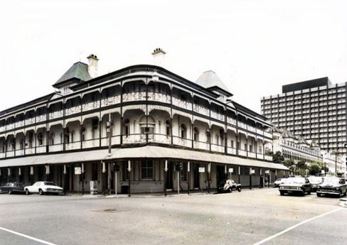 Bellevue Hotel, Brisbane  ( later demolished )