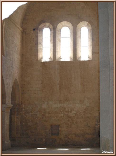 Intérieur de l'abbaye de Silvacane, Vallée de la Basse Durance (13)
