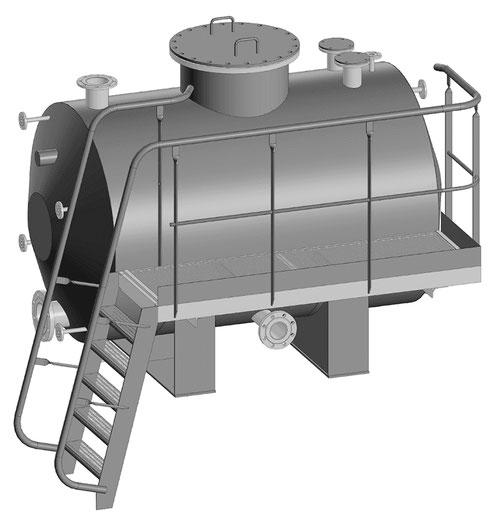 Конденсирующий бак (объем 5 куб. м)