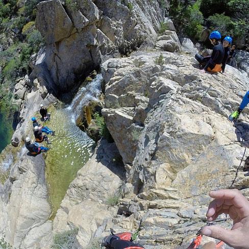 Sardinia Canyoning