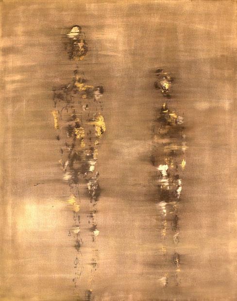 Peinture sur toile Laurence Vernizeau 2016