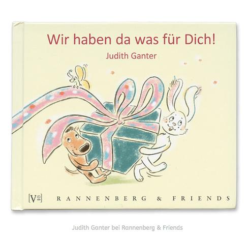 Wir haben da was für Dich! - Gutscheinbuch - Text und Illustration Judith Ganter Hamburg - Verlag Rannenberg & Friends