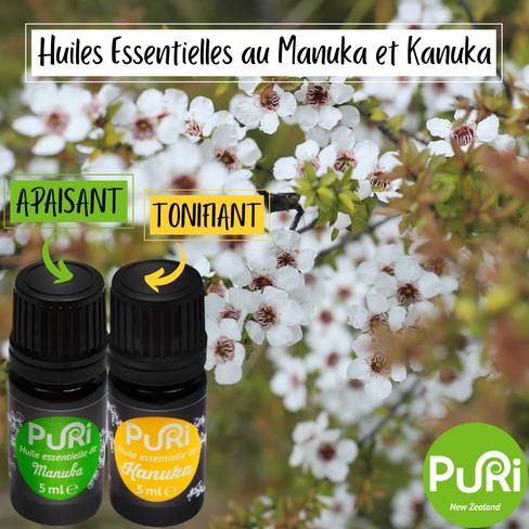 Huile Essentielle au Manuka & Kanuka : apaise & tonifie